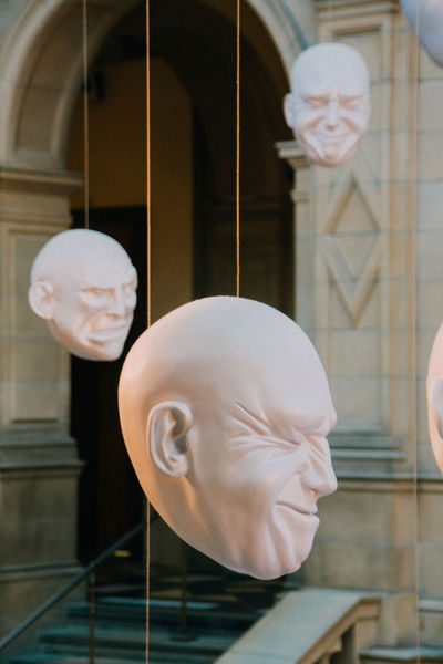 Expressions Facial Expressions Glasgow  Kelvingrove Scotland Scrunchedface