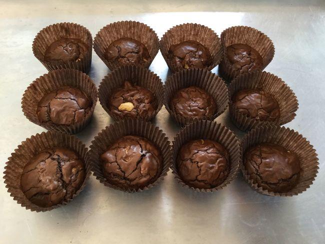 Brownie cookie Cookies Cookie Brownie EyeEm Selects Food And Drink Food Freshness Sweet Food Indoors  Cupcake Chocolate Sweet Dessert Baked Table Brown