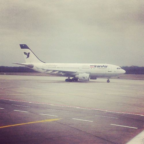 One of these airlines you don't see too often. #IranAir Iranair