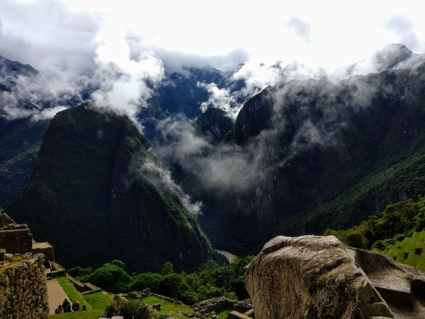 Mountain Nature Cloud - Sky Outdoors No People Landscape Tree Mountain Range Day Scenics Beauty In Nature Forest Water Rural Scene Sky Macchu Picchu