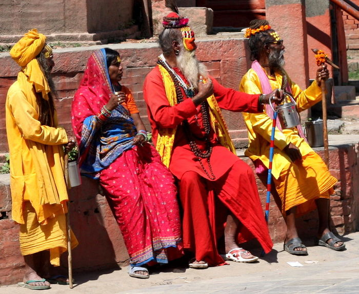 Nepal Nepal Travel Traditional Costume Colorful Clothes Katmandu People Together EyeEm Diversity Neon Life Connected By Travel