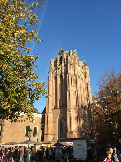 Church Old Church Architecture Tower Weather Blue Sky Autumn🍁🍁🍁 Autumn Colors Fall No Filter No Edit/no Filter
