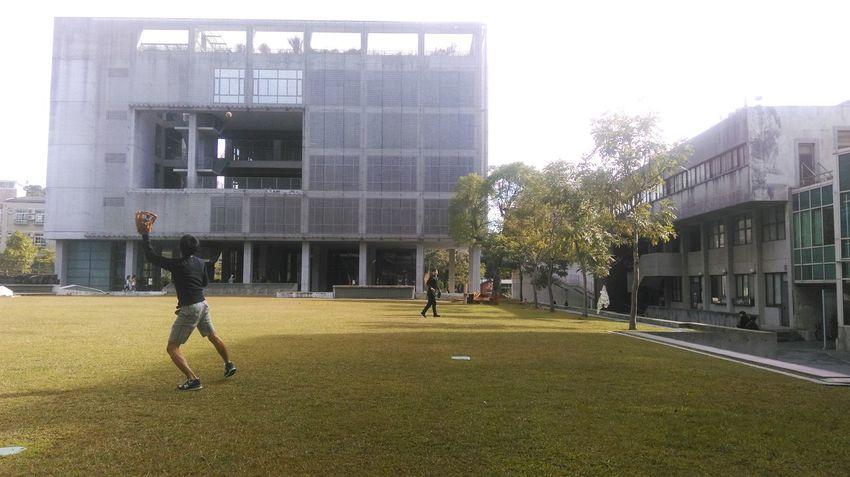 Baseball Sky Morning