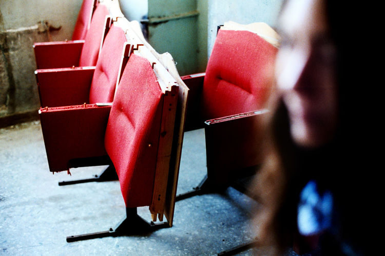 Abandoned places 35mm Film Abondoned Analog Analogue Photography Blur Building Chairs Cinema Emotion Film Focus On Foreground Georgia Georgian Photographer Girl Human Interior Kodak Lashafox Mood Old Photographer Red Soviet Tbilisi Tsertsvadze