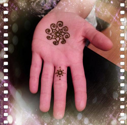 my very first henna :) Mehndi Henna Art ILoveIndia