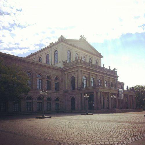 Die Oper von Hannover.