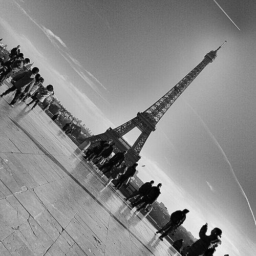 Black And White Eye4blackandwhite Paris Je T Aime