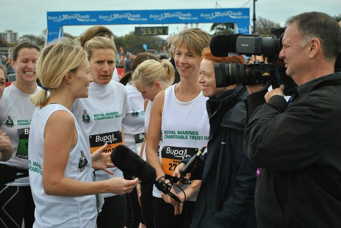 Southsea Portsmouth Athletes CameraMan Interview