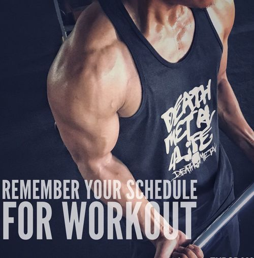 Remember your schedule for workout Human Body Part Strength Muscular Build Athlete Men Gym People EyeEm Mood Fitness Motivation ! Fitness Gymaniac Gym Time
