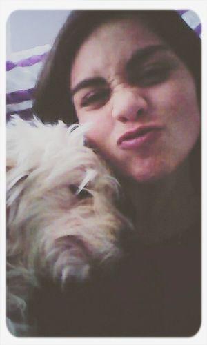 Girl Beauty She Cute Dog Love