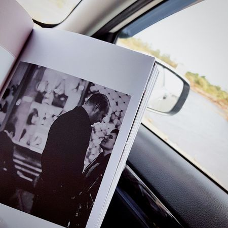 #readingbook #roadtrip #helloapril Indoors  High Angle View Transportation Close-up Reflection Land Vehicle Real People Travel Lifestyles