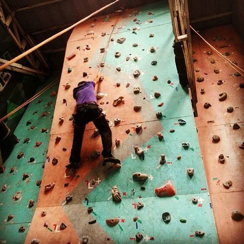 Day21 Extremely Exercise Wall Climbing Challengingmyself Philippines Checked