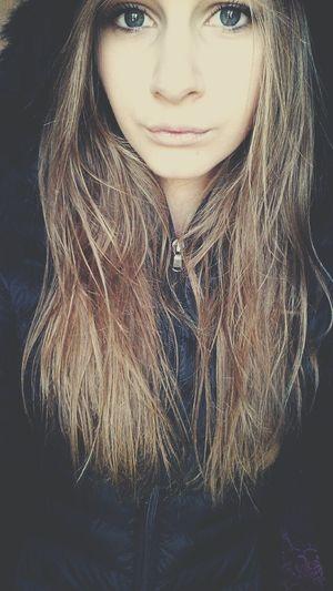 Love Cute That's Me Blonde Girl Longhair Jott Selfportrait Taking Photos BlueEyes Beauty . 💍.