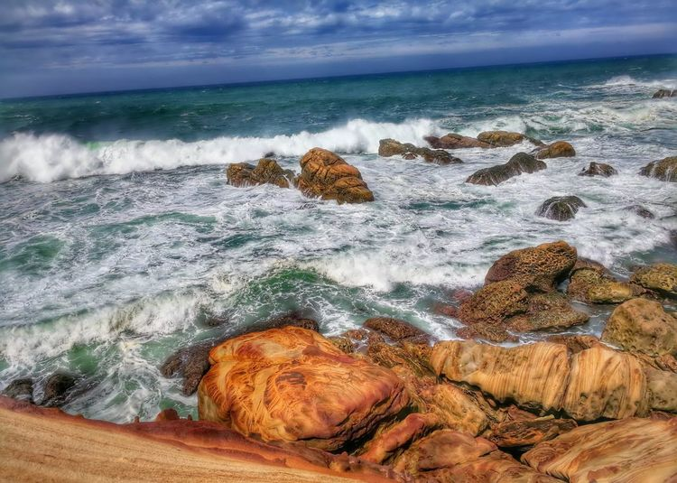 Sea Day No People Nature Beach Motion Outdoors Water Horizon Over Water Beauty In Nature Sky Scenics Wave