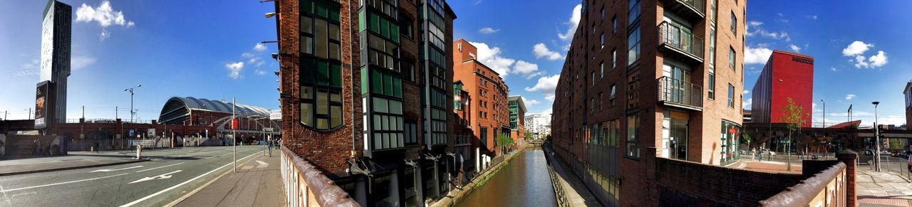 Above the Rochdale Canal Canal Manchester BeethamTower Pivotal Ideas