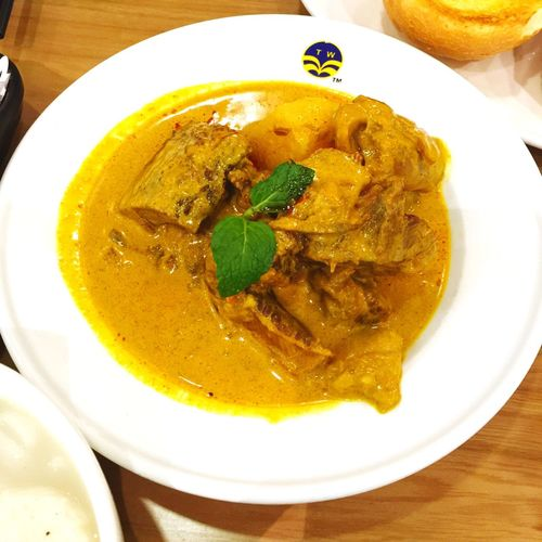 Enjoying A Meal Lunch Eating Dinner Food 翠華👍🏻👍🏻,馬來西亞咖喱牛腩👍🏻