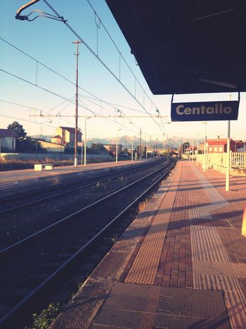 On the way Alba Early Morning Sunrise Train Station North Italy Nonody Starting The Day Lasttrip Traveling Be. Ready. EyeEmNewHere AI Now Shades Of Winter An Eye For Travel The Graphic City Colour Your Horizn Mobility In Mega Cities Going Remote The Street Photographer - 2018 EyeEm Awards Summer In The City