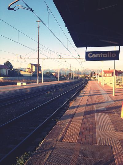 On the way Alba Early Morning Sunrise Train Station North Italy Nonody Starting The Day Lasttrip Traveling Be. Ready. EyeEmNewHere AI Now Shades Of Winter An Eye For Travel The Graphic City Colour Your Horizn Mobility In Mega Cities Going Remote The Street Photographer - 2018 EyeEm Awards Summer In The City Autumn Mood