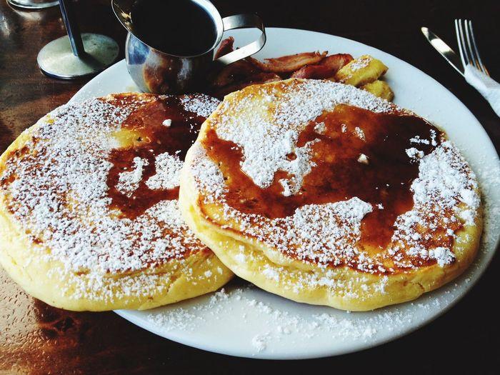 Food Porn Pancakes