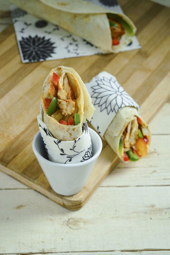 Arab Asian Food Chicken Kebab Day Delicious Fast Food Food Food And Drink Freshness Garnish Hotel Indoors  Meal Menu No People Ready-to-eat Restaurant Snack Stuffed Table Wrap Sandwich