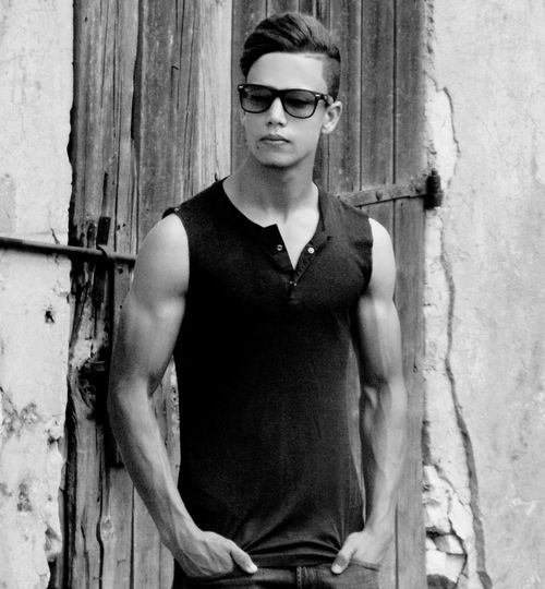 Sunglasses Portrait Door Only Men Fashion Handsome Cool Attitude Outdoors Looking At Camera Men One Person