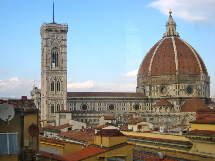 Cityscape, Roofs Church Buildings Church Tower Church ArchitectureCultural Heritage Historical Building Religious Place No People Day Outdoors Sky Building Exteriors Out Of The Window In Florence Firenze Italy🇮🇹 Your Ticket To Europe