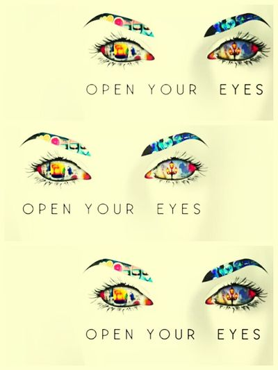 Open Your Eyes ABRA SEUS OLHOS Hello World Like ? ❤
