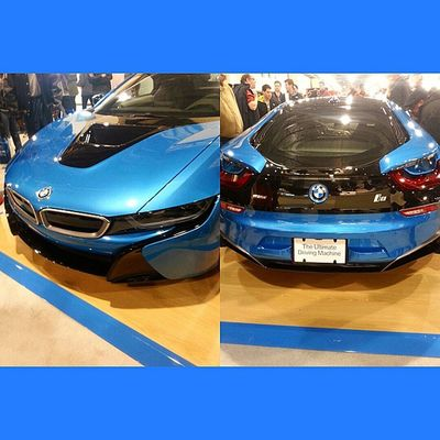 Finally got the chance to see it! Bmw i8 Bmw I8 UltimateDrivingMachine Electric