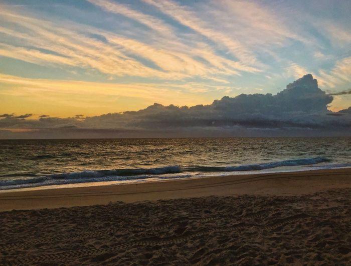 Morning glory Vscox VSCO Iphoneonly Iphonephotography IPhone Photography IPhoneography Sky Water Land Beach Sunset Beauty In Nature Scenics - Nature