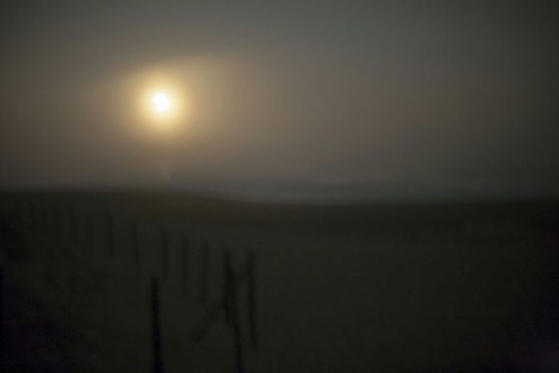 The dark Dreamy Sea. Nightphotography
