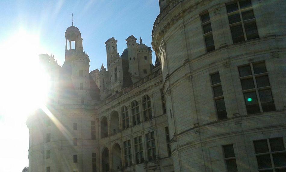 Castle France Chambord Chateau De Chambord