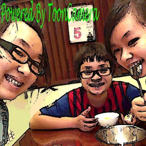 Me  Lunch  Great  Time   Bro& Sis