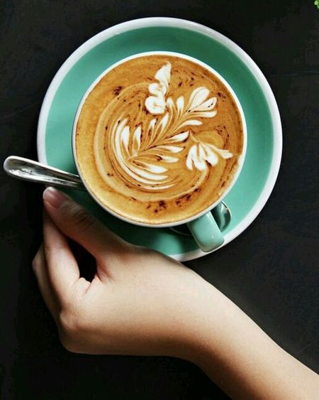 Morning .. ^^ A Cup Coffe Milk Delicius♥ Enjoying Life Hello World Happy People