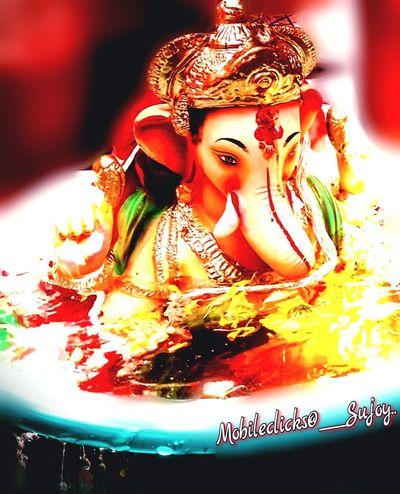 Immersion of Ganesha. Ganesh Visarjan Ganesha Ganesha Visarjan Ganeshotsav