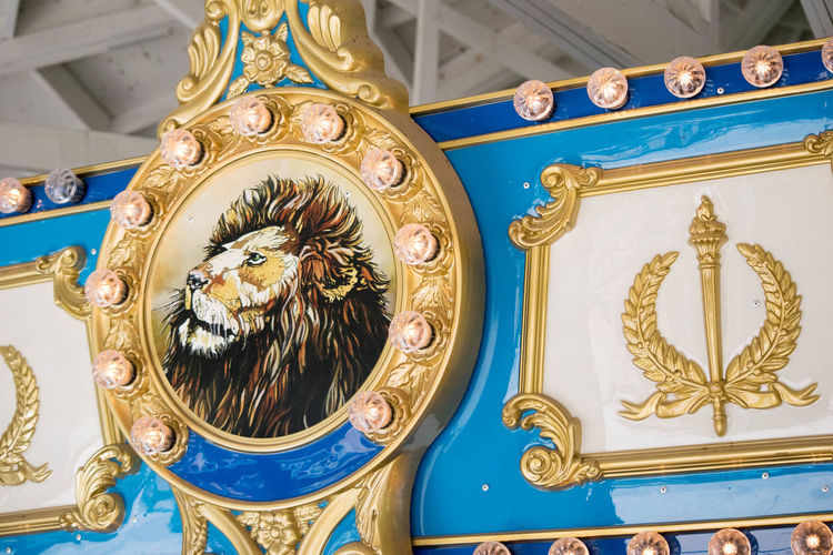 Amusment Architecture Carosel Carousel Close-up Day Gold Gold Colored Indoors  No People Ornate Ride