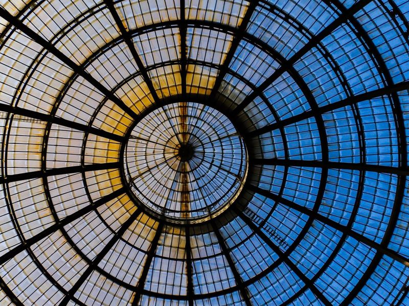 Architecture Indoors  Concentric City