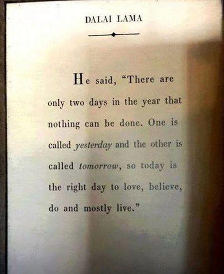 Dalai Lama Quote ♥