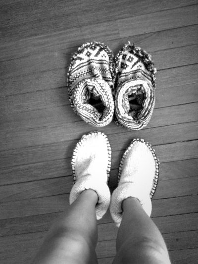 Slipper Sweaters Made By Me <3