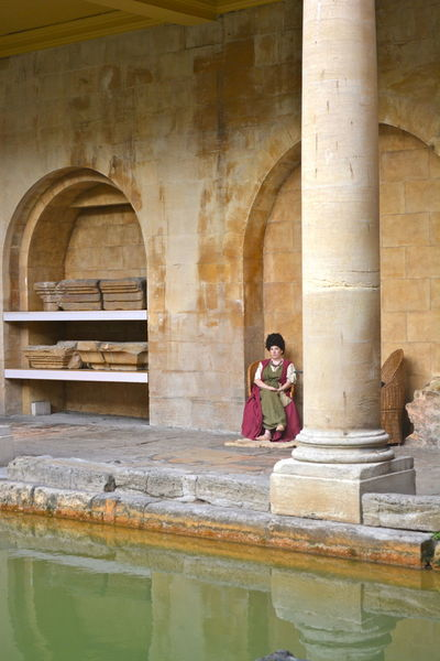 The Roman Baths at Bath, England Ancient Architecture Ancient History Bath, England Healing Waters Hot Spring Water Mysterious Place Roman Architecture Roman Baths. Roman Ruins