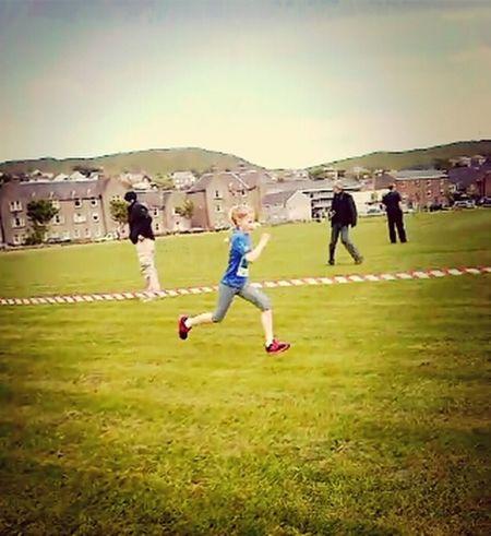 Little cousin running her 1K race on sunday