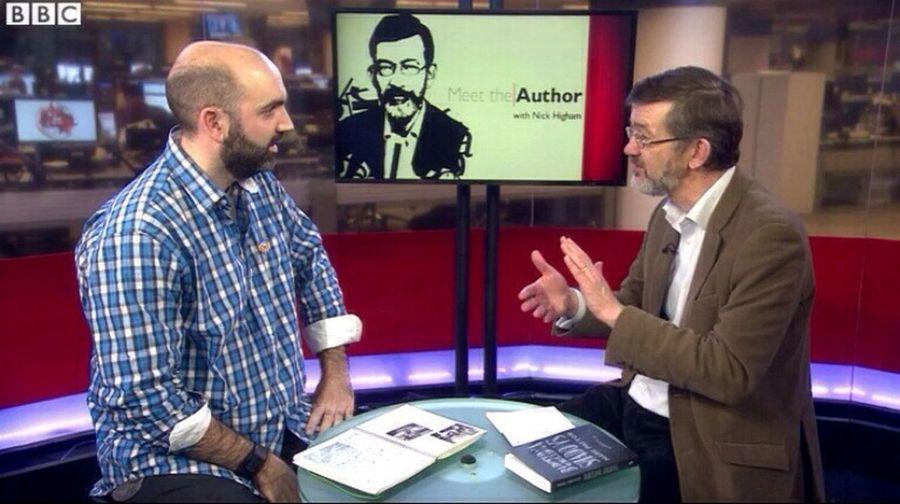 I'm on BBC! BBC Meet The Author Interview Barcelona Shadows