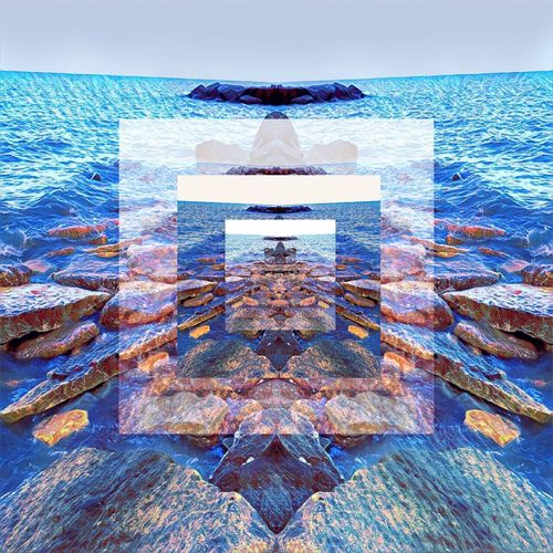 Lake Michigan Water Nature No People Outdoors Beauty In Nature Do You See What I See? Rock Eyes Watching You Mother Nature Filtered Image Complexity Imagine Creativity Artbyart Abyss EmNewHere First Eyeem Photo Cut And Paste