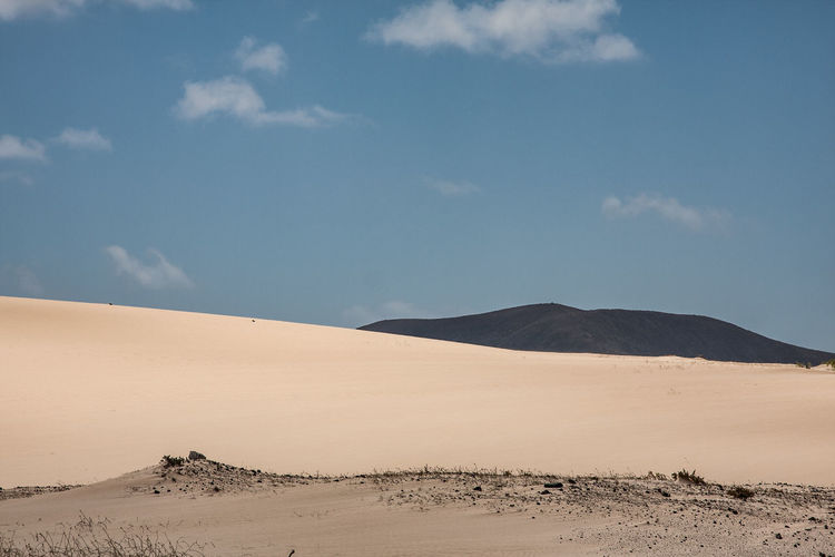 Canary Islands Fuerteventura Arid Climate Beauty In Nature Cloud - Sky Day Desert Landscape Nature No People Outdoors Physical Geography Sand Sand Dune Scenics Sky Tranquil Scene Tranquility