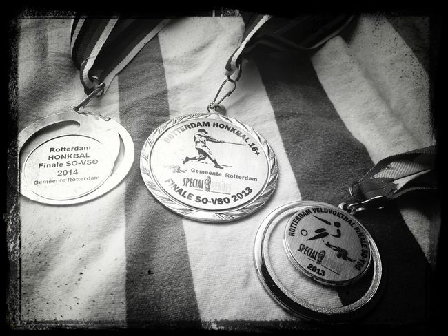 1st Place soccer and baseball 2013 & left 2014. And once again we won today at Baseball ⚾ ♡ Rotterdam