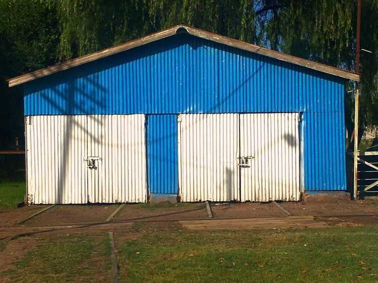 Blue Built Structure Architecture Day Outdoors Sky Building Exterior Travel Worldtour Bs.As. Station Nature Grass Architecture Summer Photography