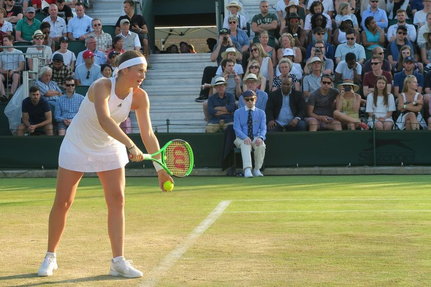 French open Champion Jelena Ostapenko Champion Championship Competition Court Day Full Length Grass Jelena Ostapenko Large Group Of People Lifestyles People Real People Serve Sport Standing Tennis Tennis Ball Tennis Court Tennis Racket Tennis 🎾 Togetherness Wimbledon Women