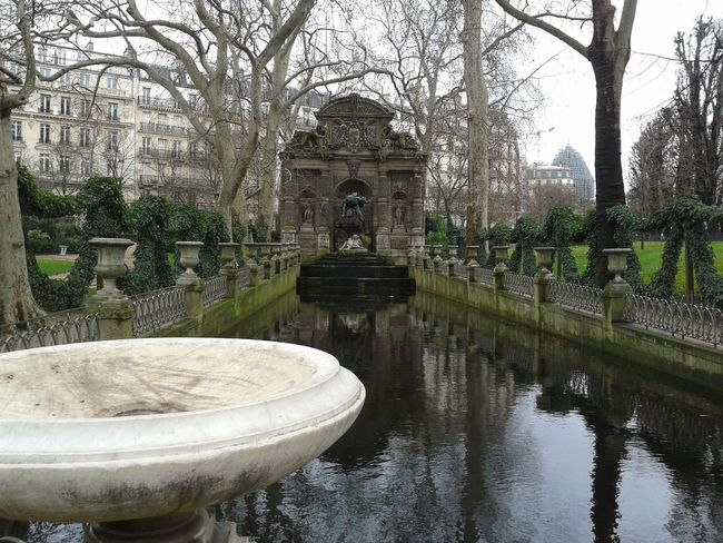 Architecture Fountain France Garden Jardin Jardin Du Luxembourg Luxembourggarden Outdoors Paris