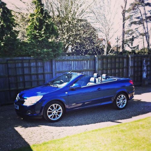 Outdoors Photograpghy  Car Convertible Blue Shiny New My Toy Fun Laughter Sunny Day Vroom