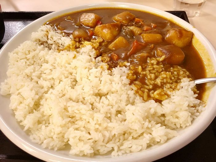 Curry Rice Food And Drink Food Healthy Eating Wellbeing Bowl Freshness Ready-to-eat Close-up Meal Serving Size