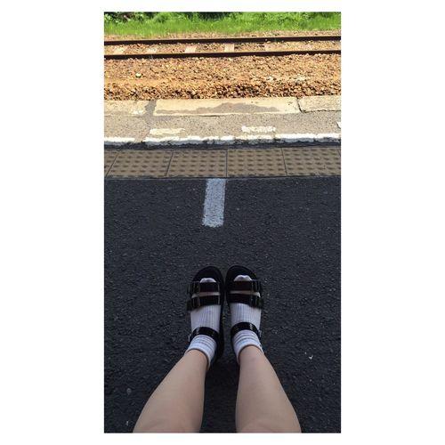 地元の落ち着き😗💕 地元 日本 愛知 足元クラブ 白ソックス (「・ω・)「ホイ もうすぐGW わくわく ドキドキ